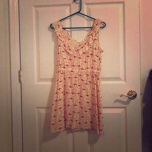 Women's short dress.